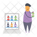 Product Vendor Product Retailer Shopkeeper Icon