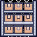 Stock Store Warehouse Icon