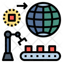 Production Industrial Machine Icon