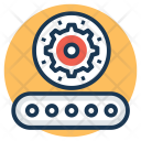 Production Mechanical Gear Icon