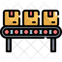 Production Line Assembly Icon