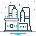 Production Factory Refinery Icon