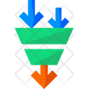 Production Sales Funnel Funnel Icon