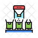 Boxes Filling Goods Icon