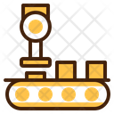 Production Robot Manufacturing Icon
