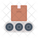 Production Conveyor Packaging Icon