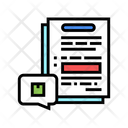 Agreement Supply Products Icon