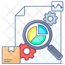 Product Analysis Production Analysis Analytical Production Icon