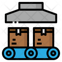 Production Box Factory Icon