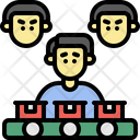 Production Factory Job Work Icon