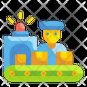 Production Labor Labor Worker Icon