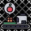 Production Machine Smart Farm Farm Icon
