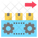 Production Manufacturing Machine Icon
