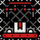 Production Management Production Robotic Icon