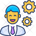 Business Manager Modern Icon