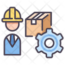 Iproduction Manager Production Manager Production Worker Icon
