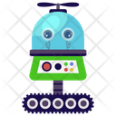 Production Robot Mechanical Robot Bionic Man Icon