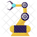 Production Robot Robotic Arm Industrial Robot Icon