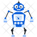 Productive Ai Bionic Man Humanoid Icon