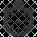 Countdown Performance Stopwatch Icon