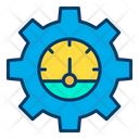 Productivity Time Optimization Optimize Time Icon