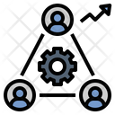 Productivity Teamwork Organization Icon