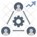 Productivity Teamwork Organization Icon