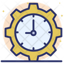 Time Management Time Maintenance Time Service Icon