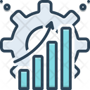 Efficiently Capacity Productivity Icon
