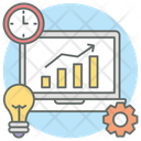 Productivity Efficiency Online Data Icon