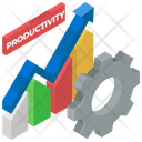 Productivity Business Configuration Growth Chart Icon
