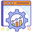 Productivity Efficiency Website Configuration Icon