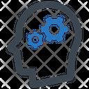Brainstorming Gear Productivity Icon