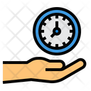 Time Management Productivity Timetable Icon