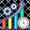 Productiveness Productivity Efficiency Icon