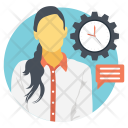 Efficiency Time Management Icon