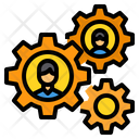 Productivity Gear Setting Icon