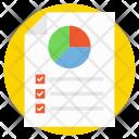 Pie Chart Analysis Icon