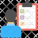 Checklist Survey List Icon