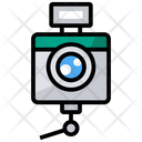 Professional Camera Camcorder Polaroid Icon
