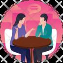 Professional Discussion Icon