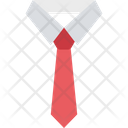 Dress Shirt Tie Formal Dressing Icon