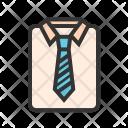 Shirt Tie Professional Icon