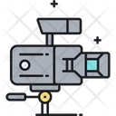 Professional Movie Camera Icon