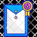 Professional Portfolio Document Icon