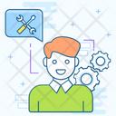 Customer Services Professional Service Admin Icon
