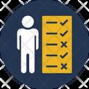 Expertise Professionally Skill Resume Icon