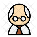 Professor Teacher Scientist Icon