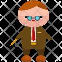 Professor Man Avatar Icon