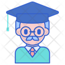 Professor Avatar Educatore Icon